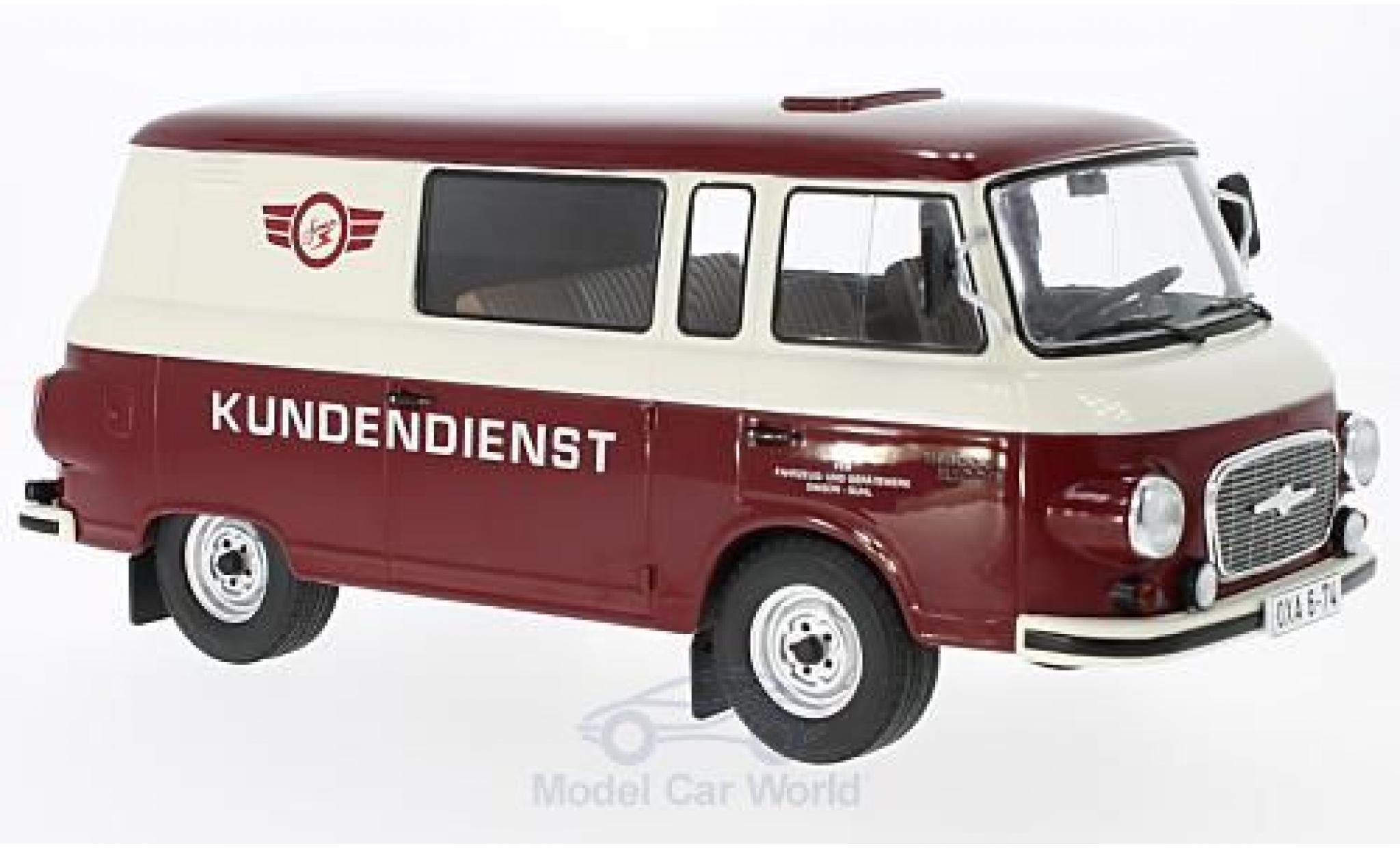 Barkas B 1000 1/18 MCG Halbbus Simson Kundendienst 1970