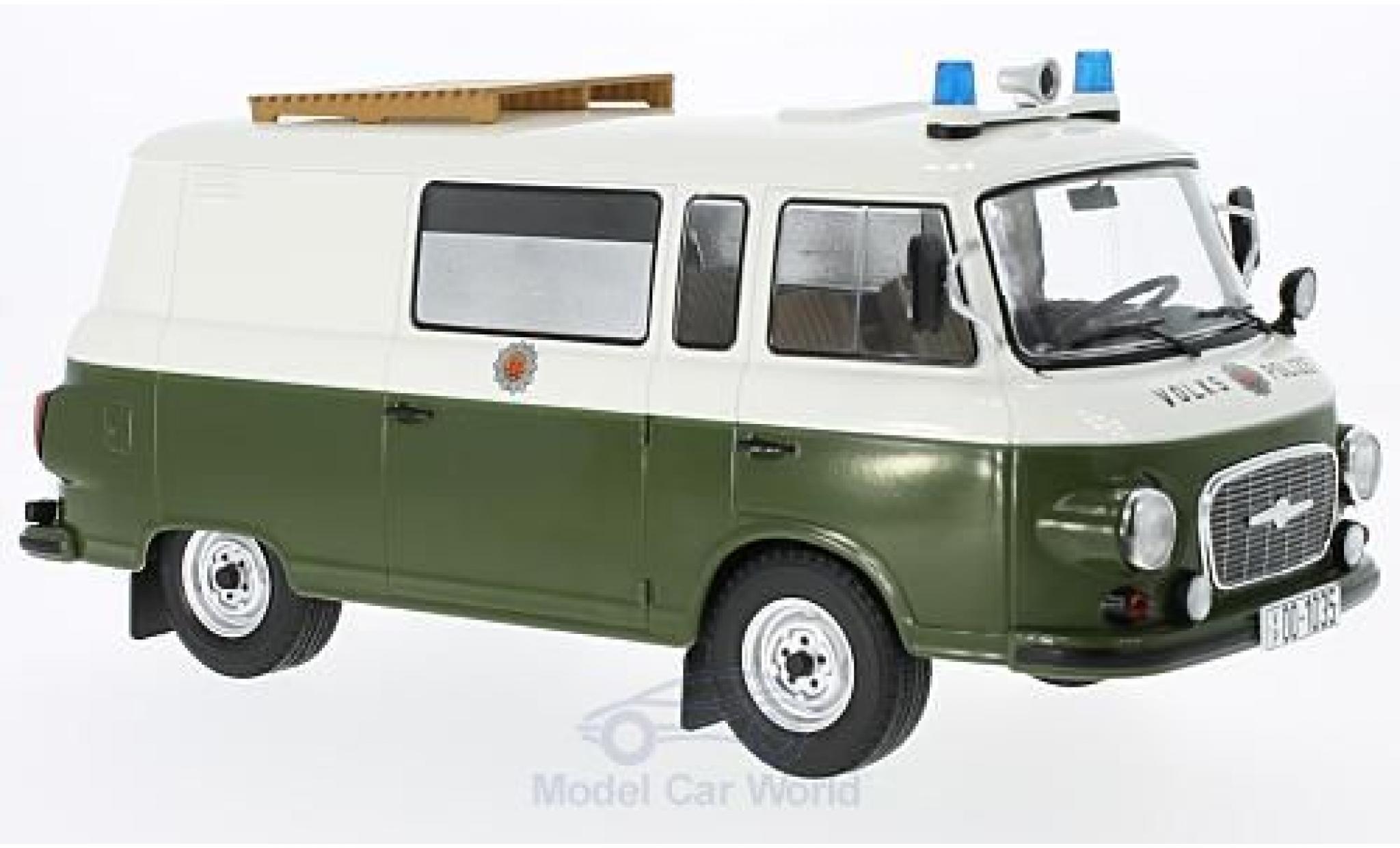 Barkas B 1000 1/18 MCG Halbbus Volkspolizei 1970
