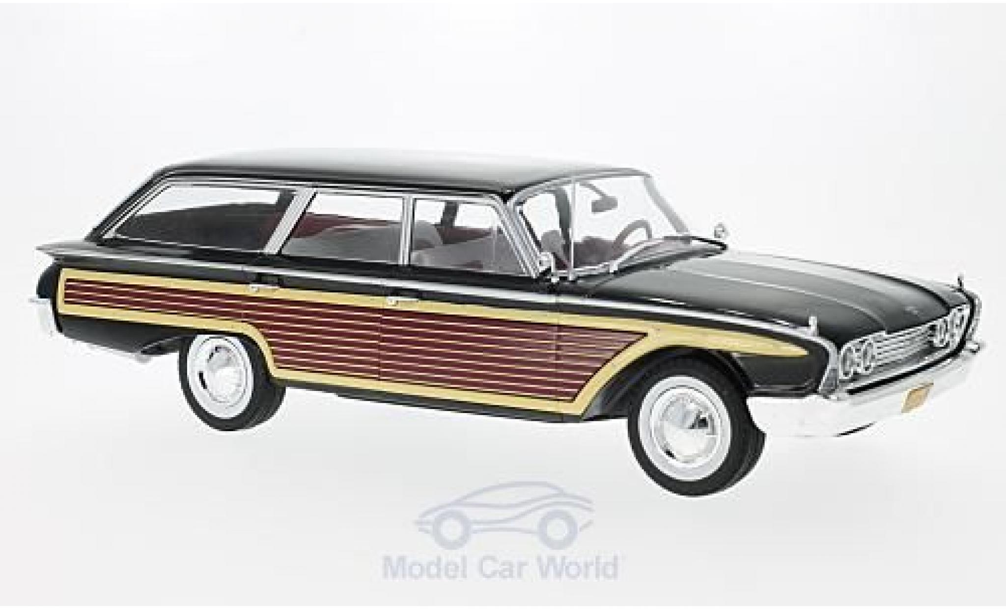Ford Country Squire 1/18 MCG noire/Holzoptik 1960 ohne Dachreling