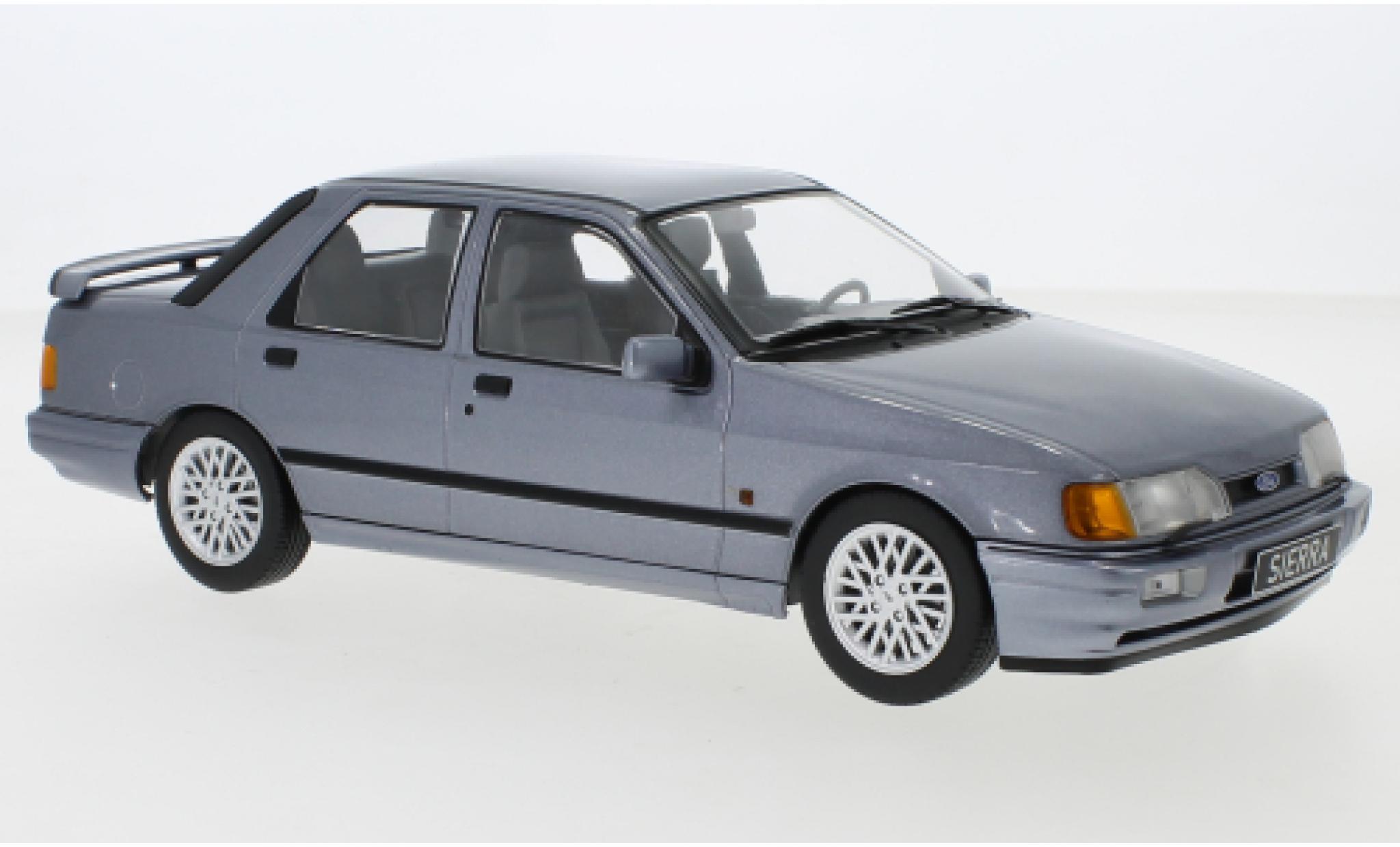 Ford Sierra 1/18 MCG Cosworth metallise grise 1988