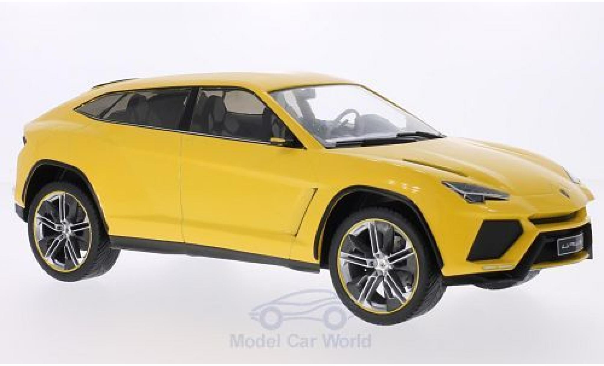 Lamborghini Urus 1/18 MCG metallise yellow 2012 Türen und Hauben geschlossen