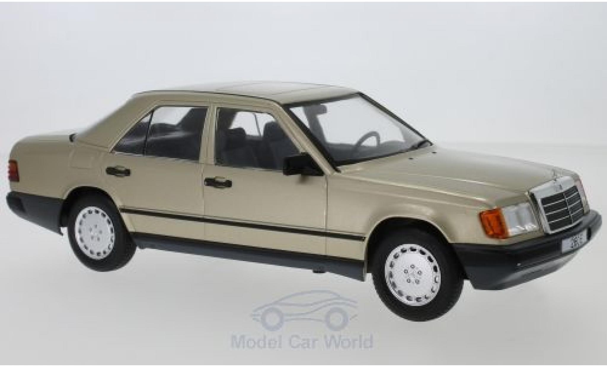 Mercedes 260 1/18 MCG E (W124) metallise marron 1984
