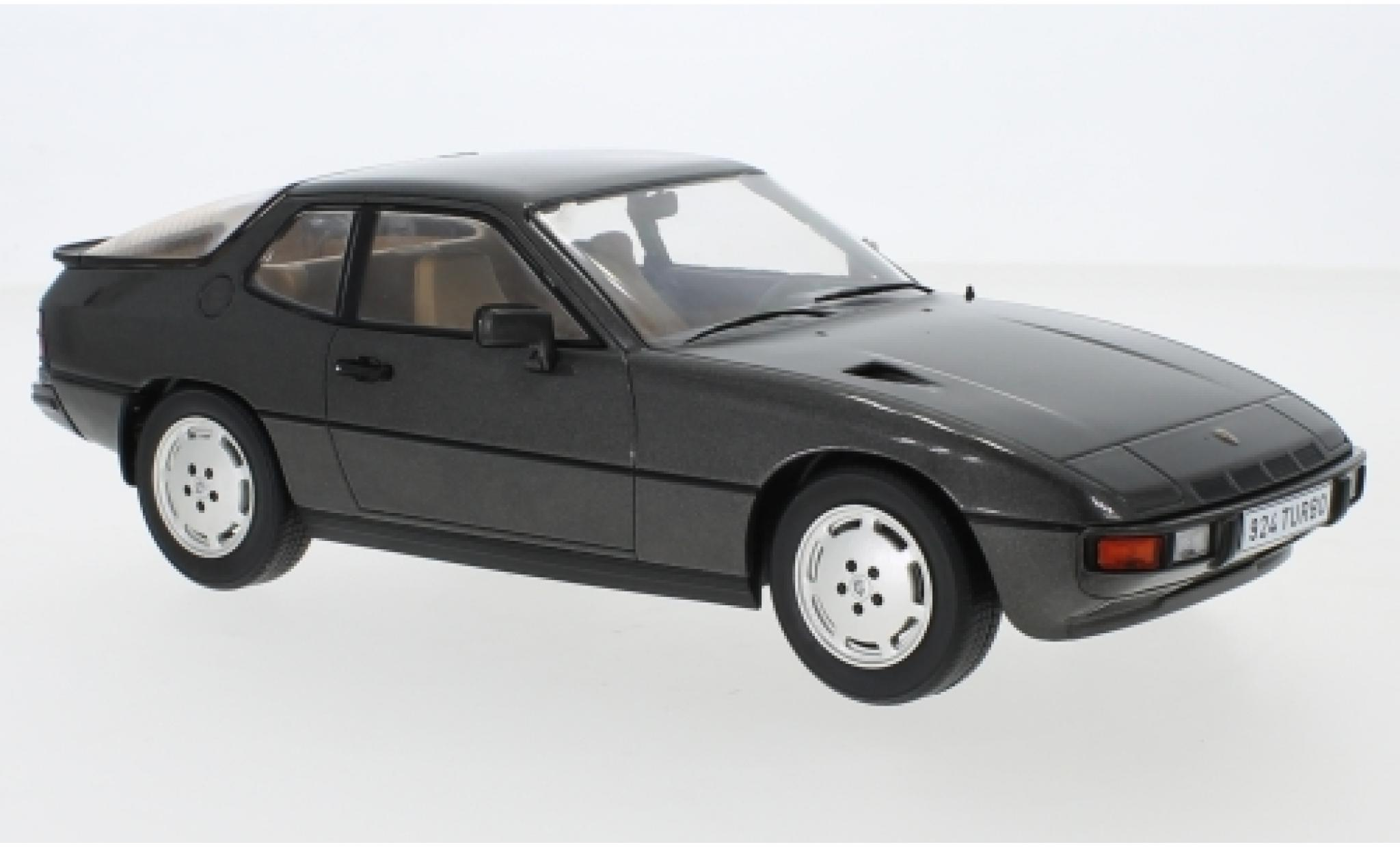 Porsche 924 1/18 MCG Turbo metallise grey 1979