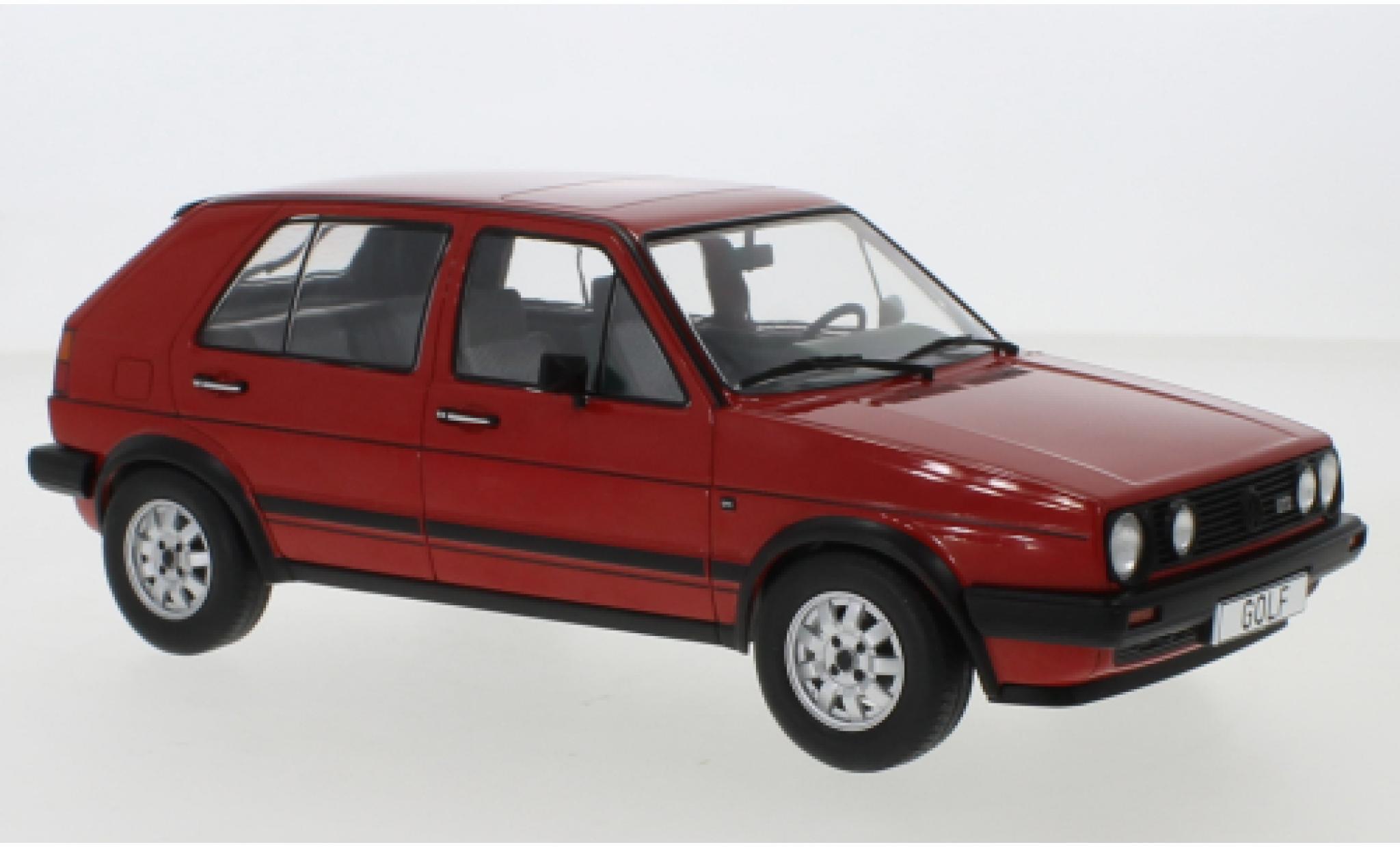 Volkswagen Golf 1/18 MCG II GTD rouge 1984 5-trg.