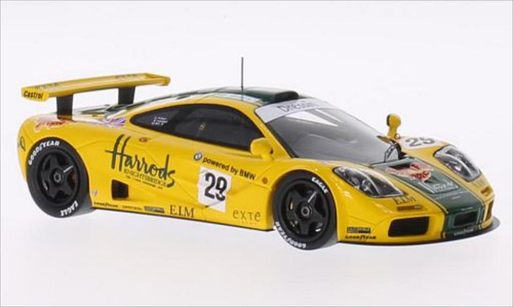 McLaren F1 1/43 Spark GTR No.29 Hawaiian Tropic 6th Le Mans 1996 /A.Wallace miniature