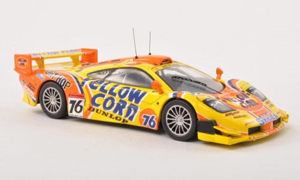 McLaren F1 1/43 IXO GTR No.76 Team 5Zigen Super GT Motegi 2002 /E.Tajima miniature