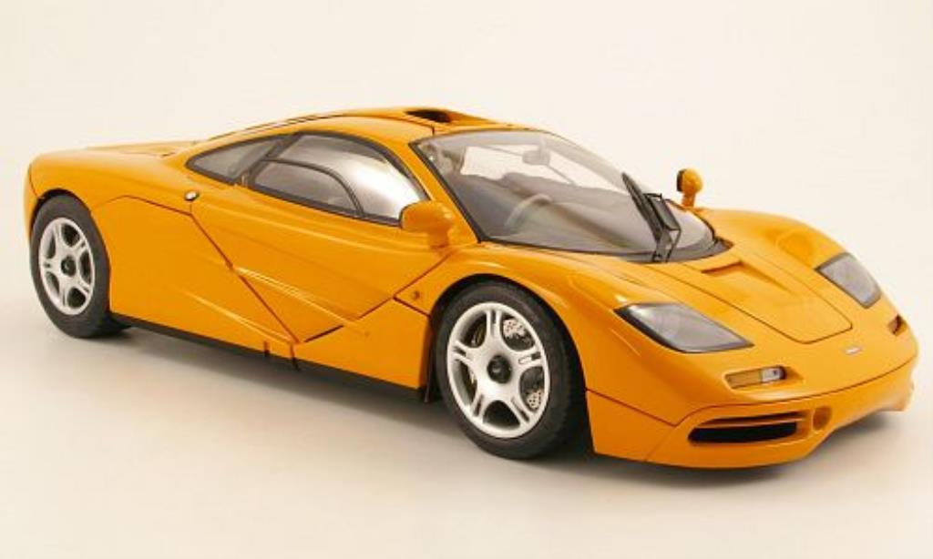 McLaren F1 1/12 Minichamps orange 1994 miniature