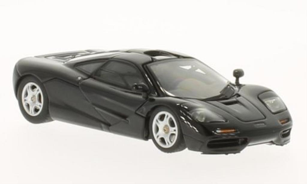 McLaren F1 1/43 Autoart Road Car Short Tail noire 1994 miniature