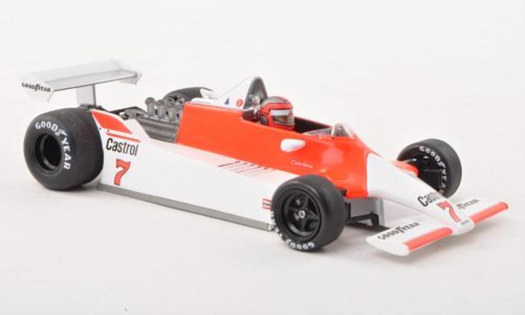 McLaren M29 1/43 Spark No.7 Marlboro GP Brasilien 1980 miniature