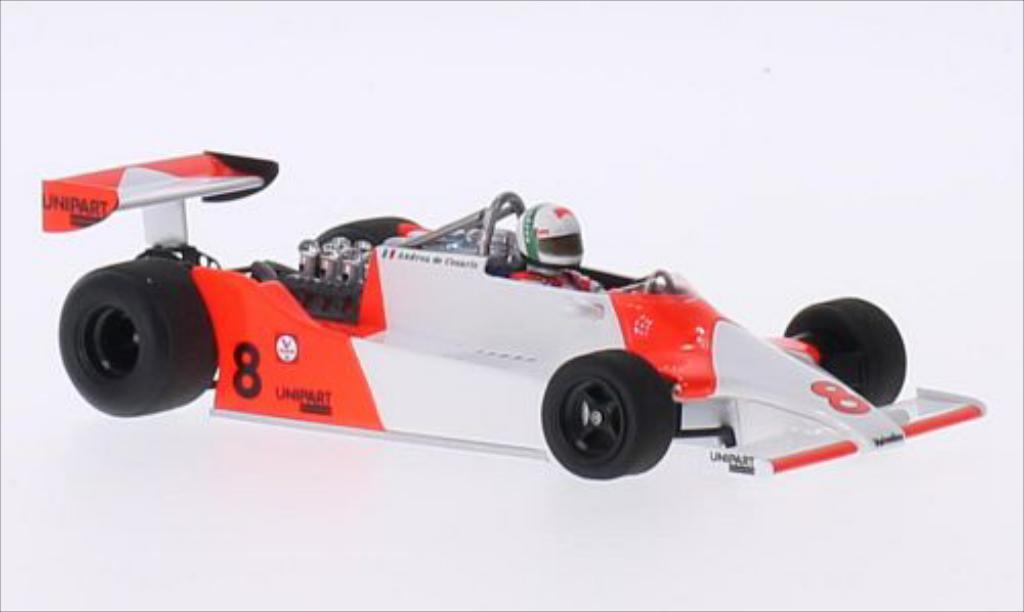 McLaren M29 1/43 Spark No.8 Formel 1 GP Long Beach 1981 miniature