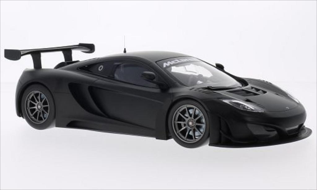McLaren MP4-12C 1/18 Minichamps GT3 matt-noire 2012 miniature