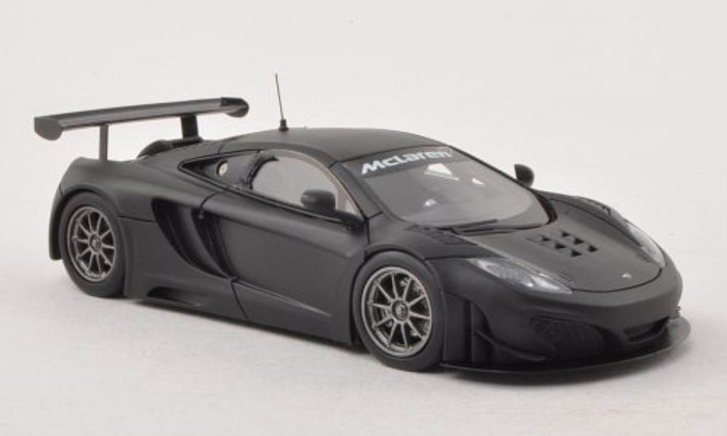 McLaren MP4-12C 1/43 Minichamps GT3 matt-noire Plain Body Version 2012 miniature