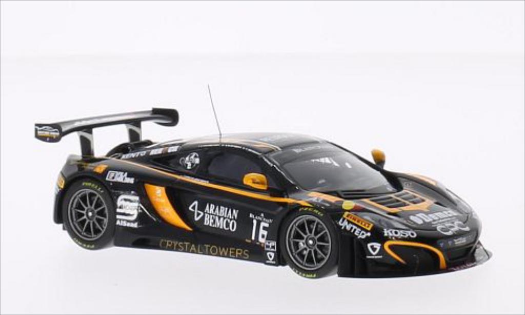 McLaren MP4-12C 1/43 Minichamps GT3 No.16 Boutsen Ginion Racing 24h Spa 2014 /C.van miniature