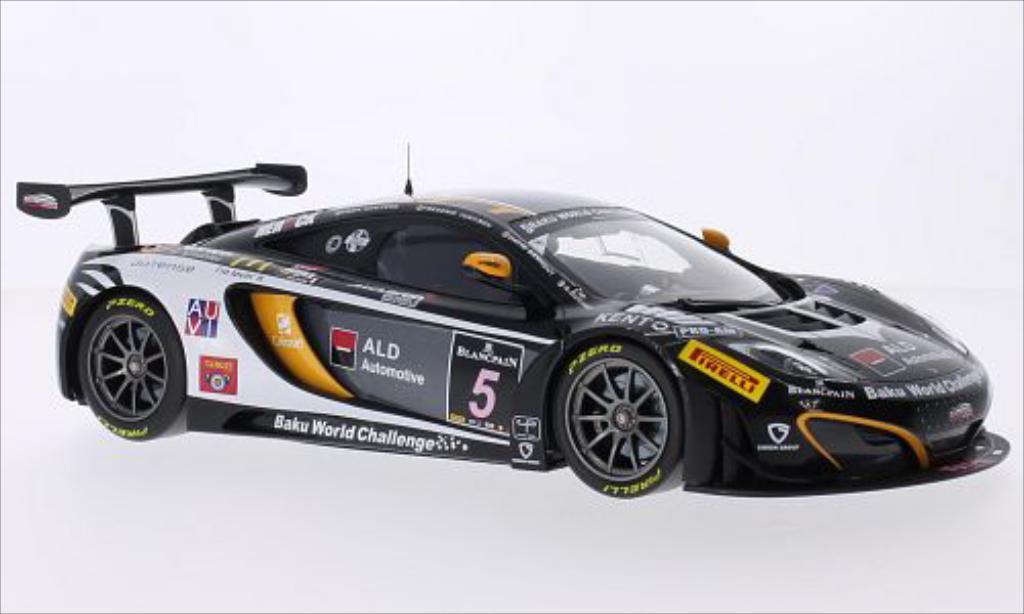 McLaren MP4-12C 1/18 Minichamps GT3 No.5 Boutsen Ginion Racing 24h Spa 2013 /K.Wauters miniature