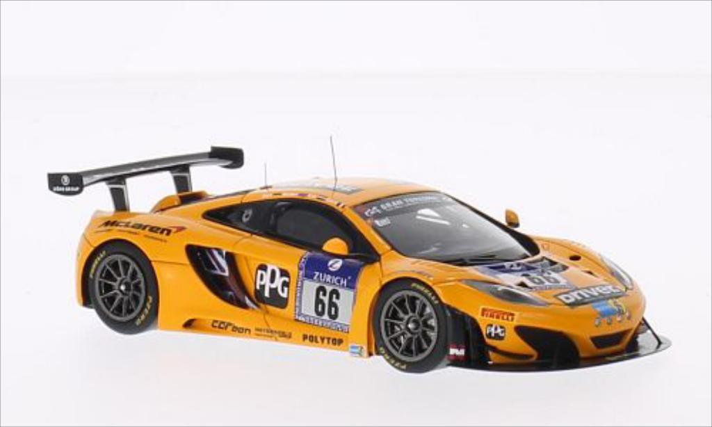McLaren MP4-12C 1/43 Spark GT3 No.66 Dorr Motorsport 24h Nurburgring 2014 /S.Bert miniature