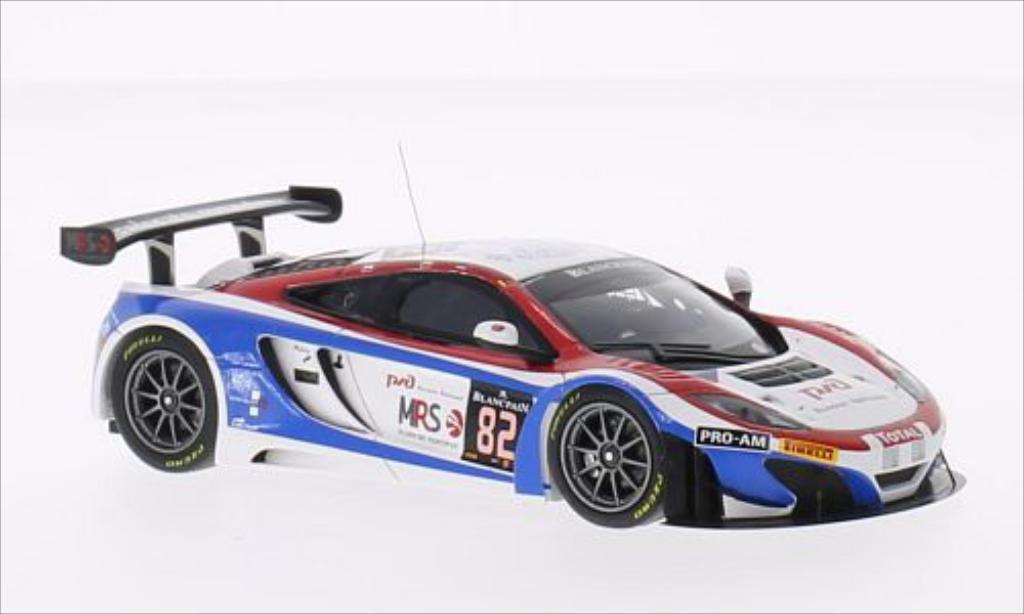 McLaren MP4-12C 1/43 Minichamps GT3 No.82 Russian Team 24h Spa 2014 /F.Spengler miniature