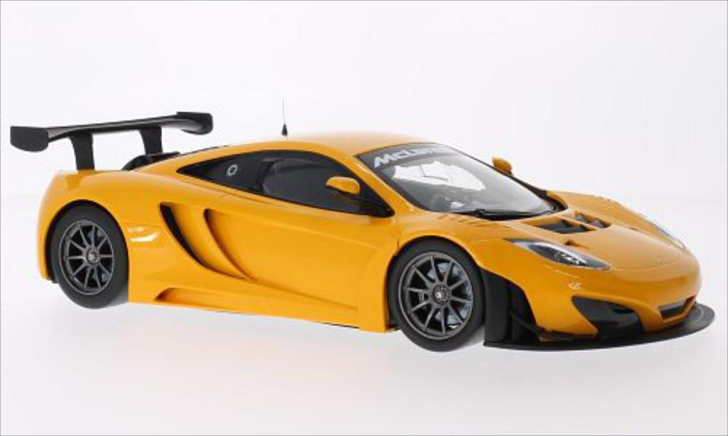 McLaren MP4-12C 1/18 Minichamps GT3 orange 2012 miniature