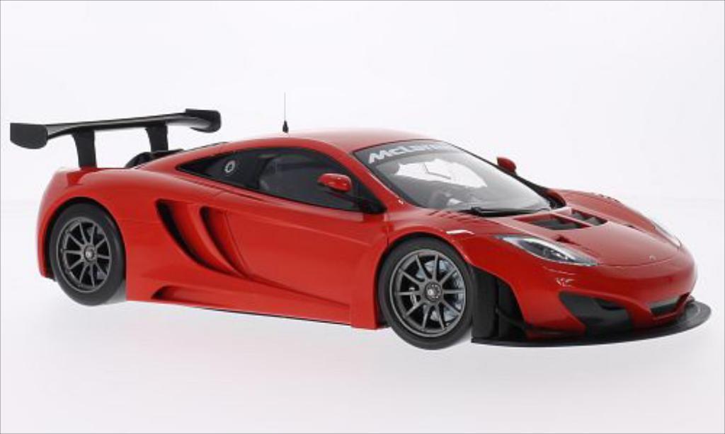 McLaren MP4-12C 1/18 Minichamps GT3 rouge 2012 miniature