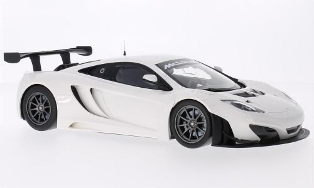 McLaren MP4-12C 1/18 Minichamps GT3 blanche 2012 miniature