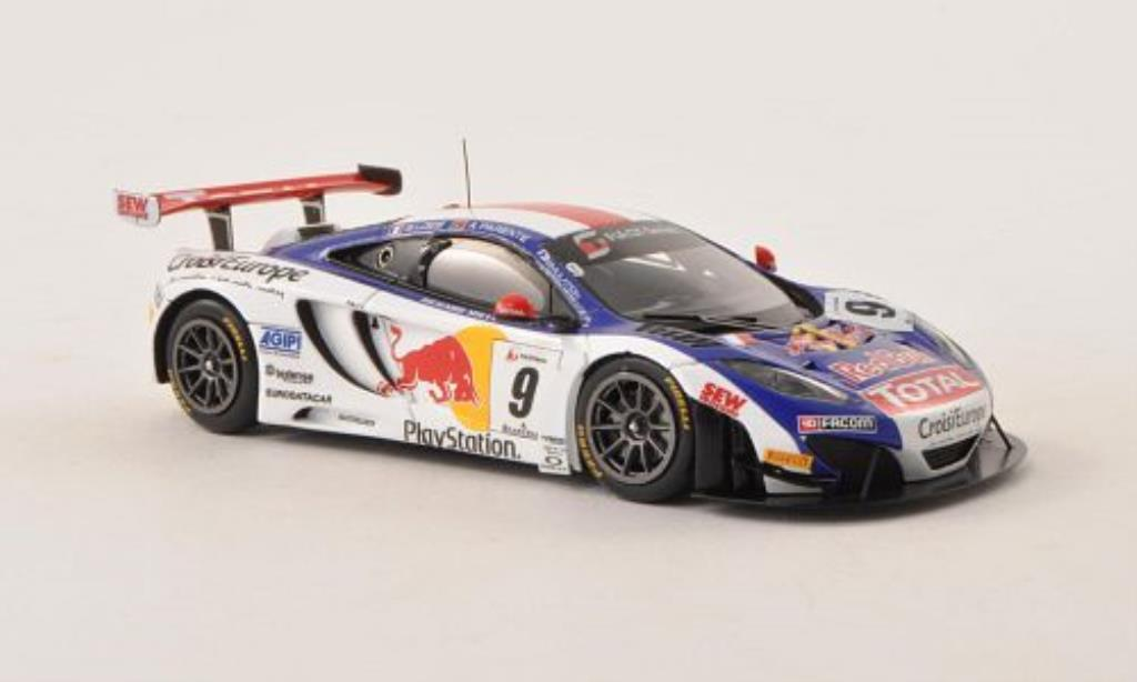 McLaren MP4-12C 1/43 Spark No.9 Loeb Racing FIA GT Series - Navarra 2013 /A.Parente miniature