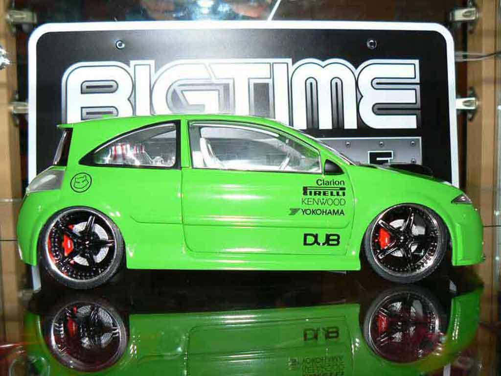Renault Megane Sport 1/18 Norev rs tuning