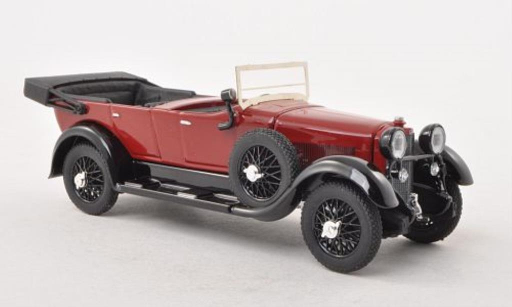 Mercedes nov-40 1/43 Rio red/black offenes Verdeck 1924 diecast model cars
