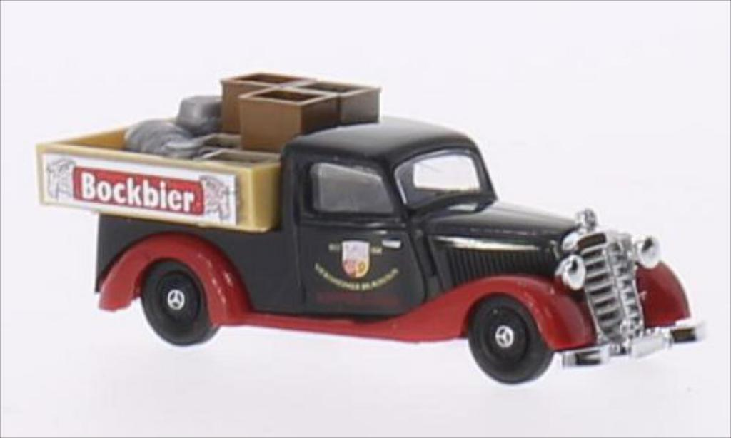 Mercedes 170 1/87 Busch V Pick Up Brauhaus Viernheim miniature