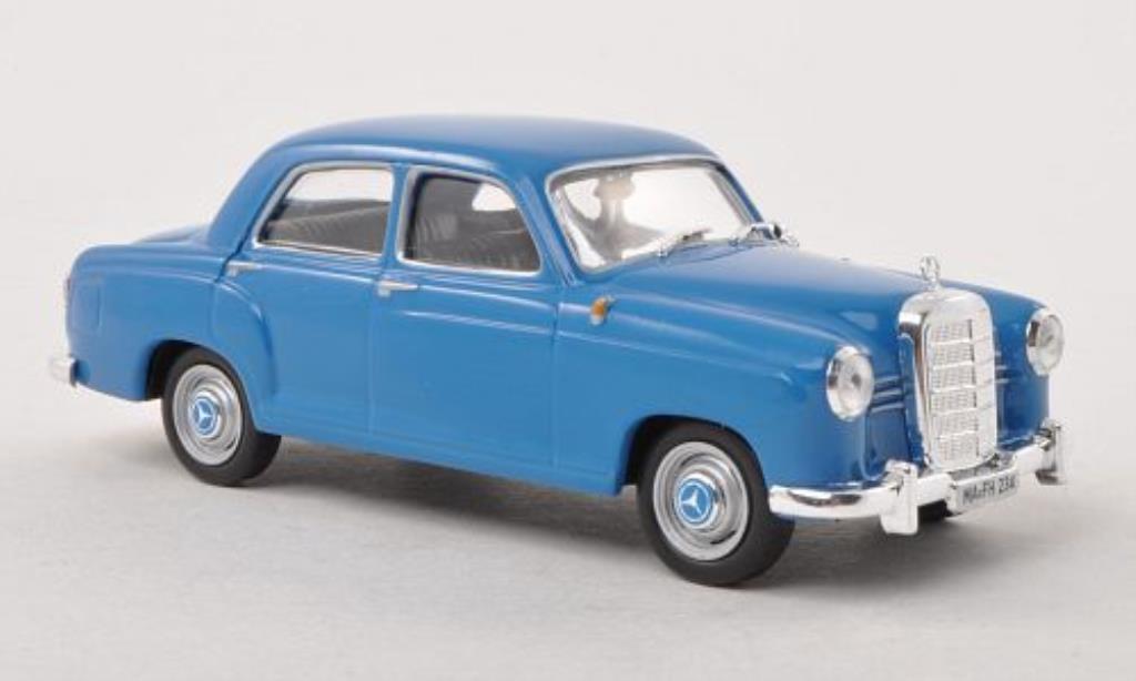 Mercedes 180 1/43 WhiteBox D (W120) bleu 1954 miniature