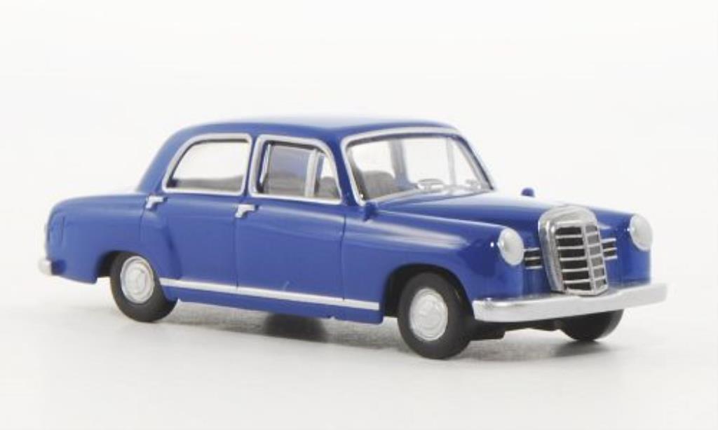 Mercedes 180 1/87 Herpa Ponton bleu miniature
