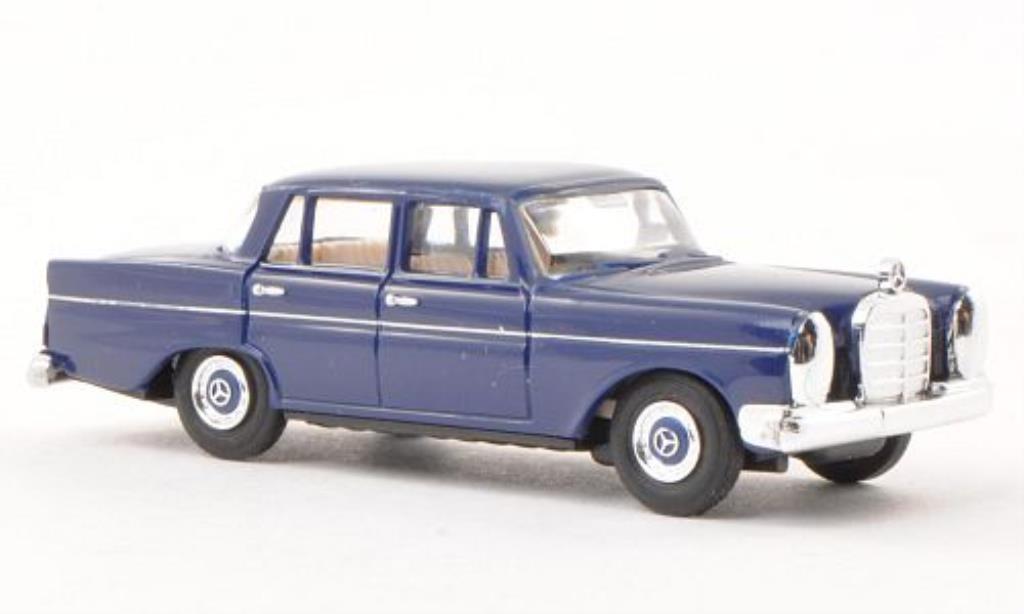 Mercedes 220 1/87 Busch bleu 1959 miniature