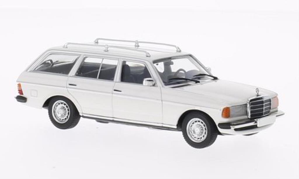 Mercedes 250 1/43 Minichamps T (S123) blanche 1978 miniature