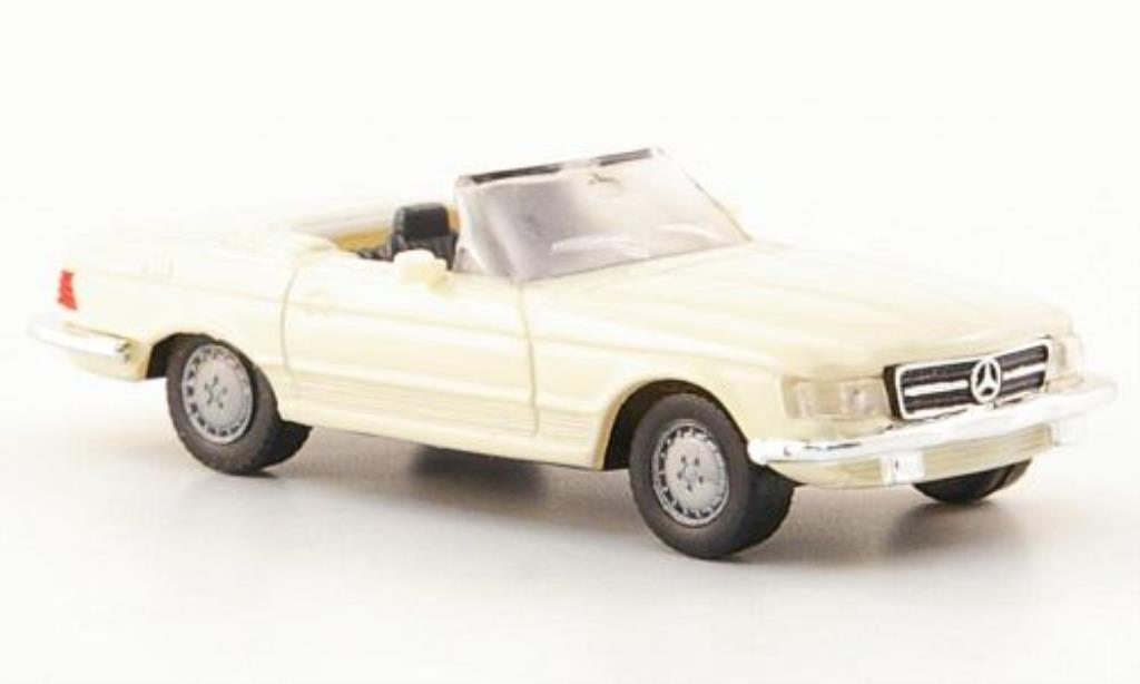 Mercedes 280 1/87 Herpa SL (R107) beige miniature
