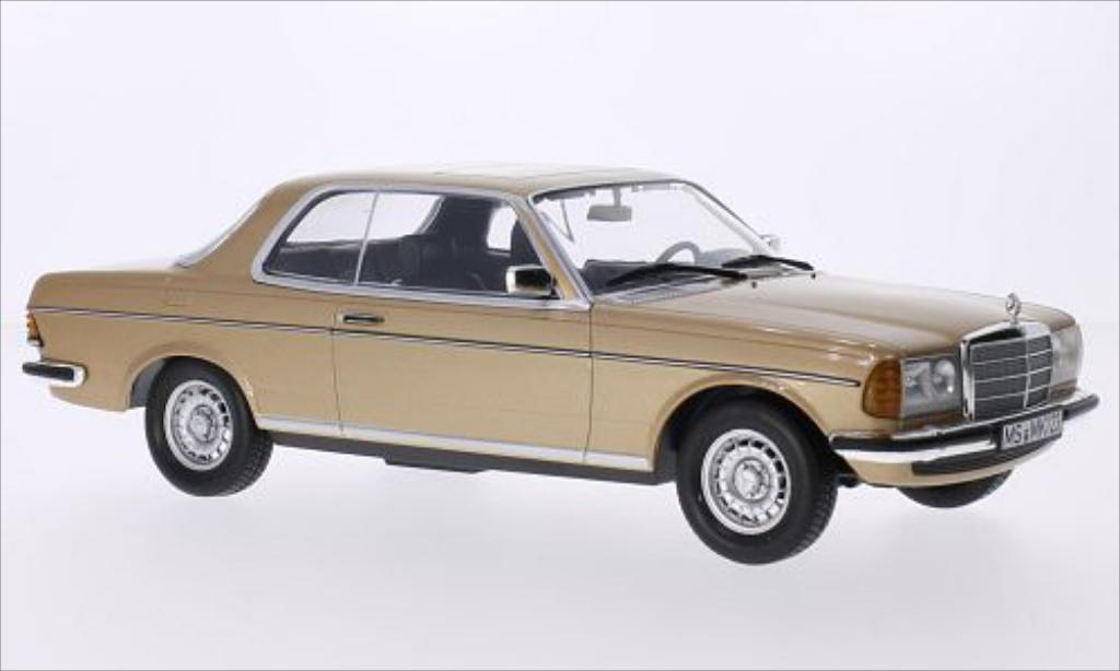 Mercedes 280 1/18 Norev (W123) CE gold 1980