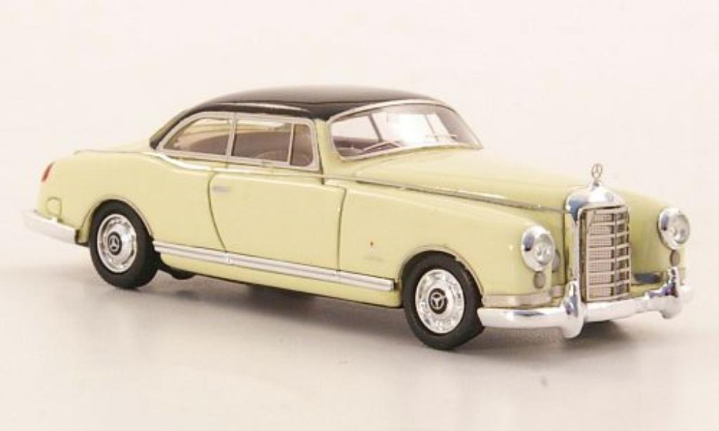 mercedes 300 b miniature pininfarina blanche noire neo 1 87 voiture. Black Bedroom Furniture Sets. Home Design Ideas