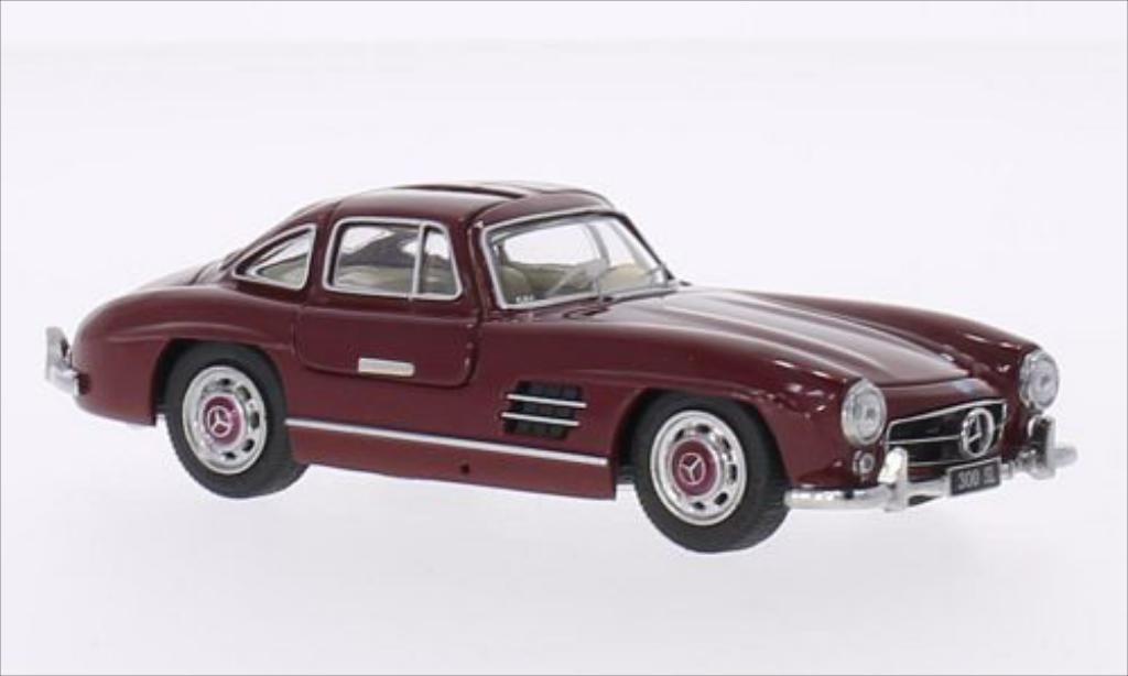 Mercedes 300 SL 1/43 Schuco Coupe (W198) rouge miniature