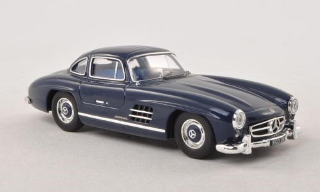 Mercedes 300 SL 1/43 IXO (W198) bleu 1955 miniature
