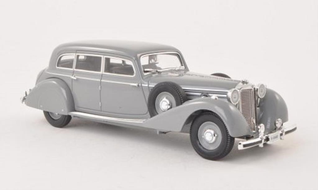 Mercedes 770 1/43 Signature Pullman-Limousine grise 1938 miniature
