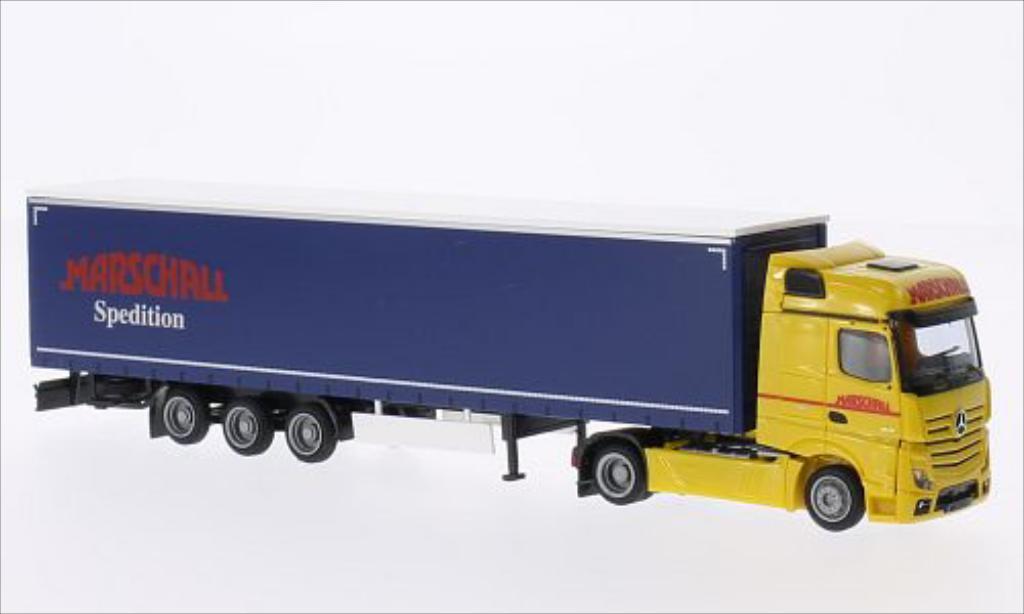 Mercedes Actros 2 Big./Aerop. Marschall Mega-KSZ AWM. Mercedes Actros 2 Big./Aerop. Marschall Mega-KSZ modellini 1/87