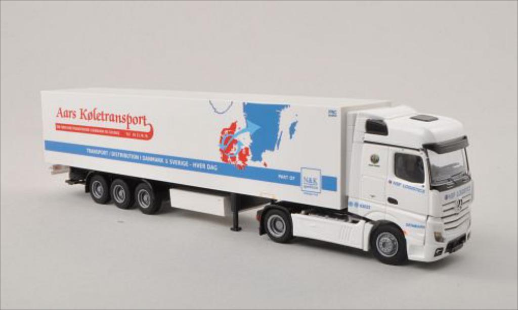 Mercedes Actros 1/87 AWM 2 Bigspace/Aerop. HSF/ Aars Koletransport (DK) Kuhl-KSZ diecast