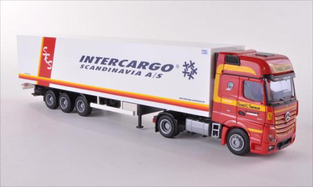 Mercedes Actros 1/87 AWM 2 Giga./Aerop. Kuhl-KSZ Sorensen/Intercargo diecast