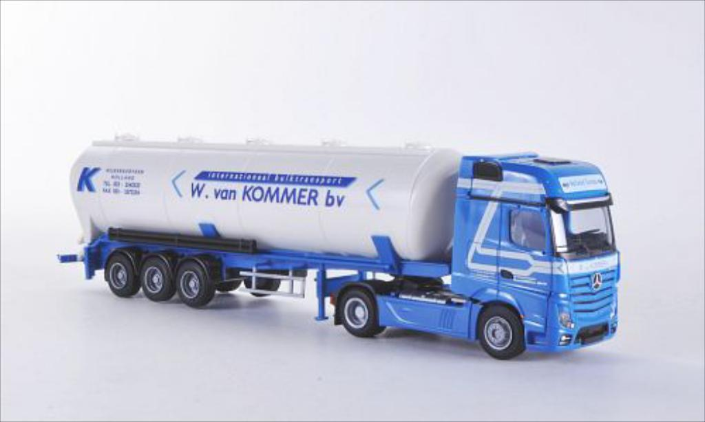 Mercedes Actros 1/87 AWM 2 Giga. W. van Kommer bv (NL) Aerop.-Kippsilo-SZ