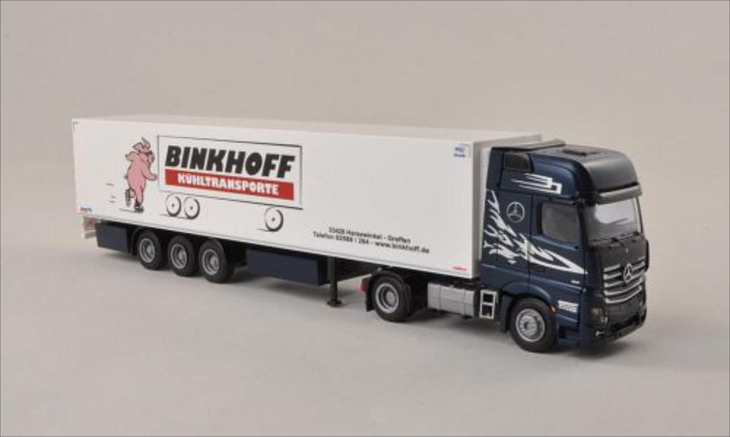 Mercedes Actros 1/87 AWM 2 Gigaliner Binkhoff Kuhlkoffer-SZ diecast