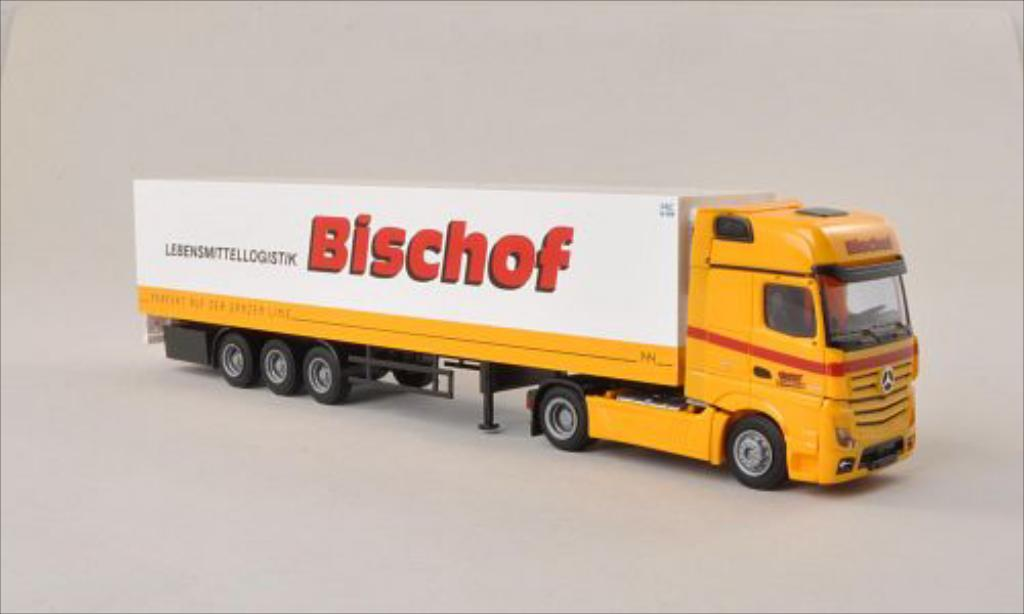 Mercedes Actros 1/87 AWM 2 Gigaliner Bischof (AT) Kuhlkoffer-SZ miniature