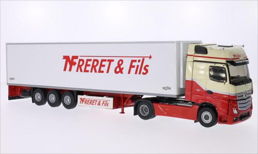 Mercedes Actros 1/43 Eligor 2 Gigaspace Freret & Fils miniatura