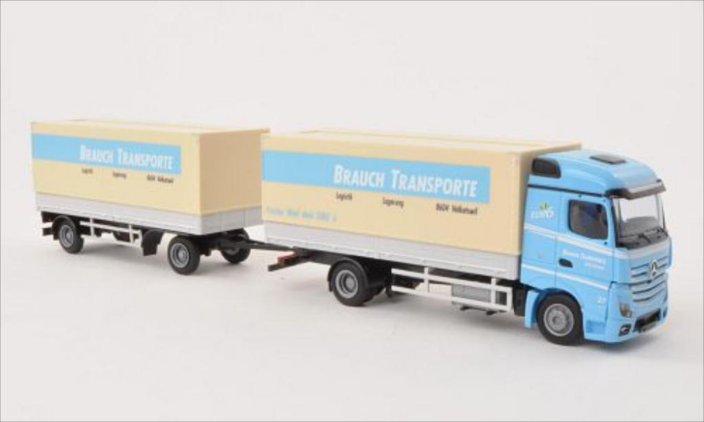 Mercedes Actros 1/87 AWM 2 Streamspace Brauch Transporte Pr-HZ diecast