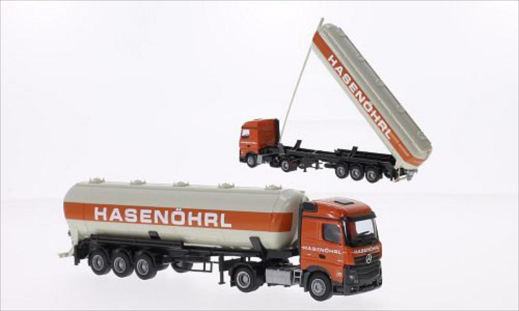 Mercedes Actros 1/87 AWM 2 Streamspace Hasenohrl diecast