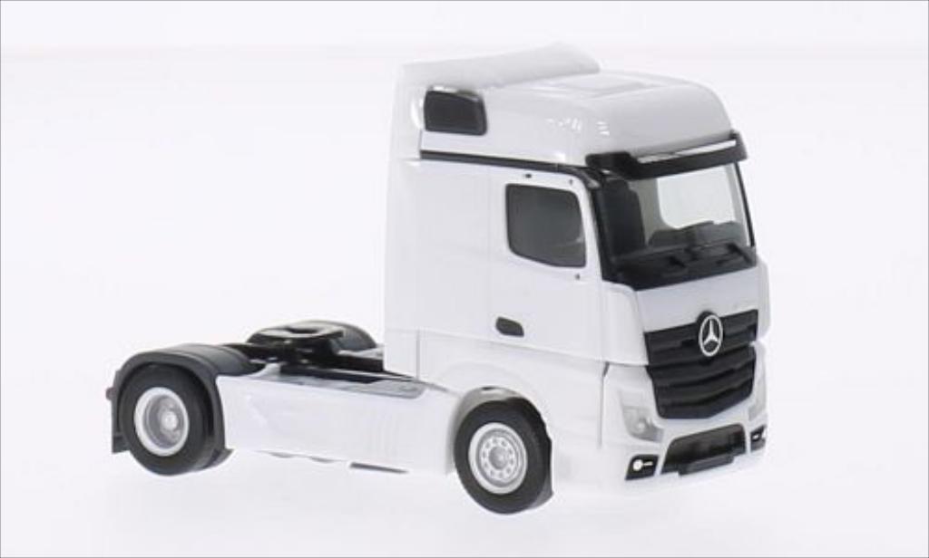 Mercedes Actros Miniature Bigspace Blanche Herpa 1 87 Voiture Miniature Com