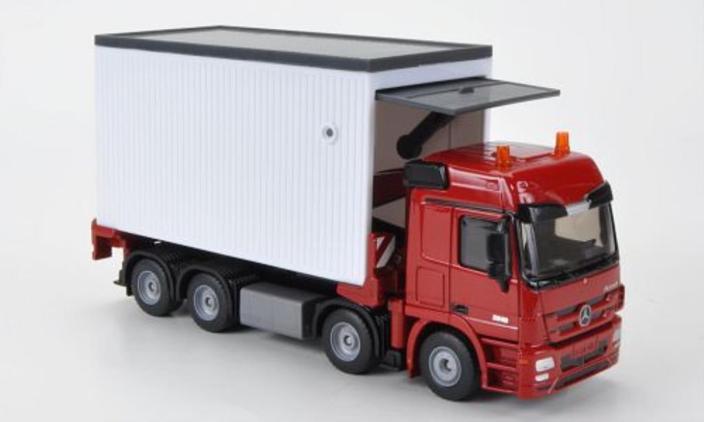 Mercedes Actros 1/50 Siku Garagentransporter mit Ladegut miniature