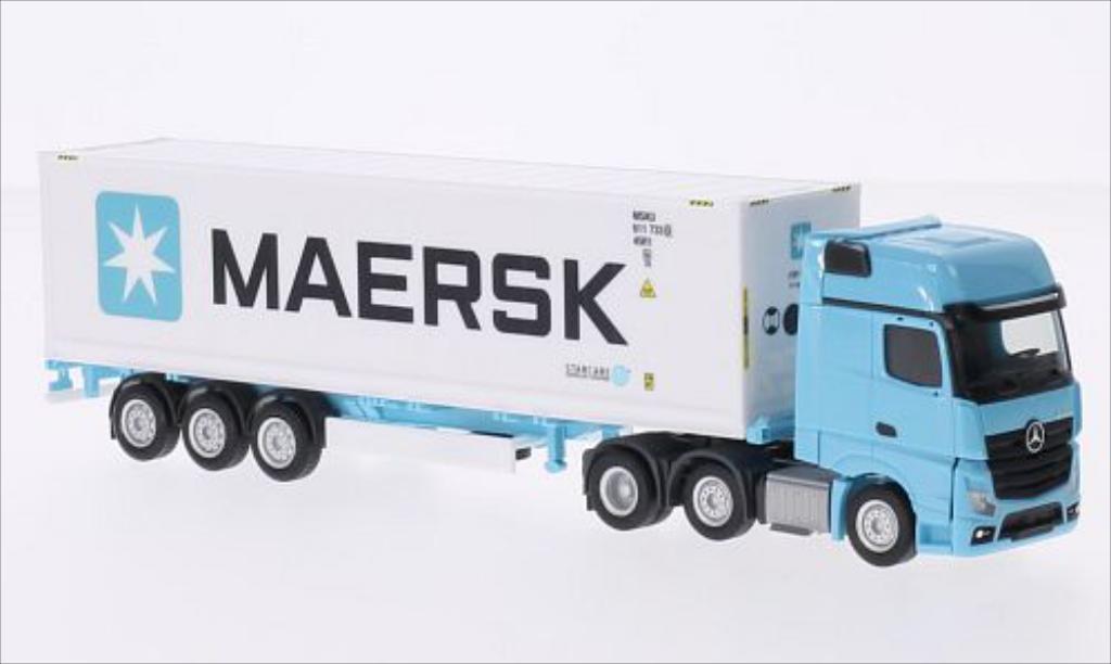 Mercedes Actros 1/87 Herpa Gigaspace Maersk diecast model cars