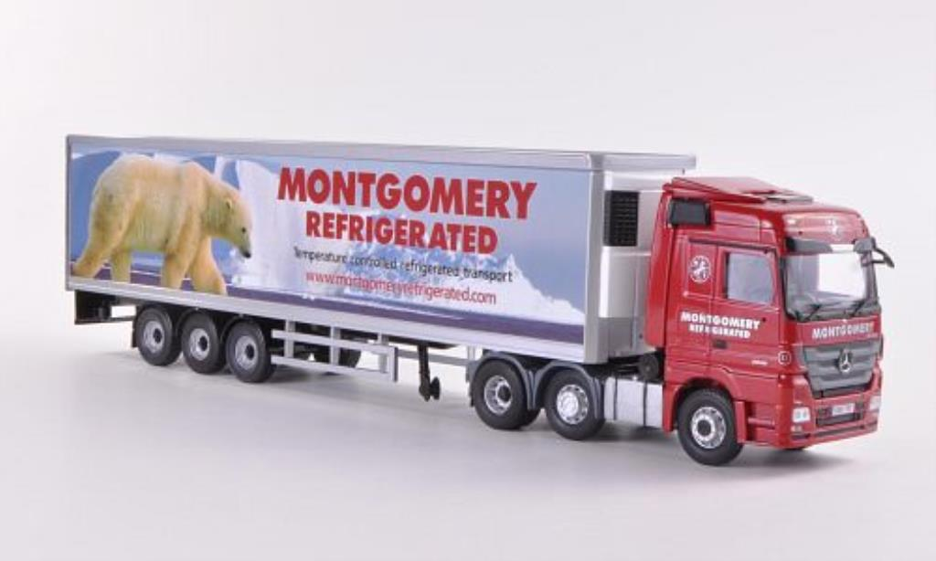 Mercedes Actros 1/50 Corgi Montgomery Refrigerated Kuhlkoffer-SZ miniature